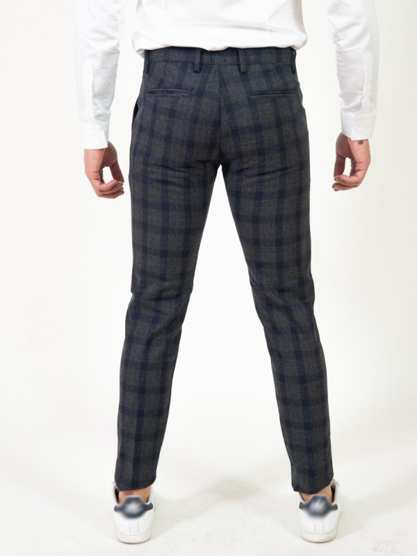 Pantalone Slim - Key Jey - Pantaloni eleganti uomo -Gogolfun.it