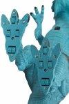 Dinozaur RC Smok - chodzi ryczy zionie parą 41 cm