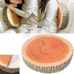 Poduszka Dekoracyjna Emoji - Drewno 2 kolory