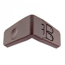 Zabezpieczenie szuflad kątowe wersja 2 brązowe
