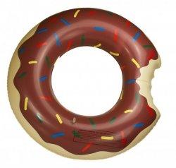 Koło Dmuchane Donut 60cm brązowe