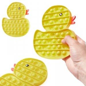 Zabawka sensoryczna Push Bubble Pop kaczka żółta