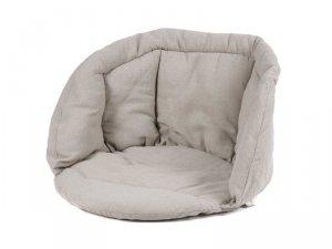 Poduszka na huśtawę fotel bocianie gniazdo szara