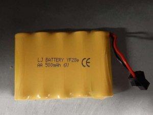 Część RC Drift terenowy akumulator 6V 500mah