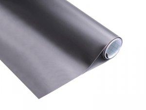 Folia rolka perłowa ciemno szara 1,52x18m