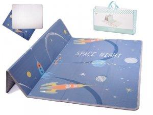 Mata Edukacyjna piankowa dla dzieci kosmos 175X145