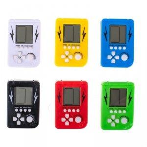Gra gierka elektroniczna mini tetris breloczek