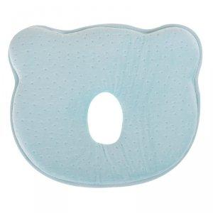 Poduszka korekcyjna dla niemowląt miś niebieska