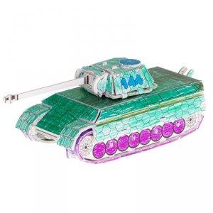 Puzzle 3D kolorowanka czołg 37 el.