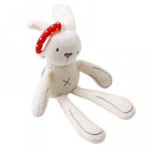 Zawieszka pluszowa maskotka królik 28cm