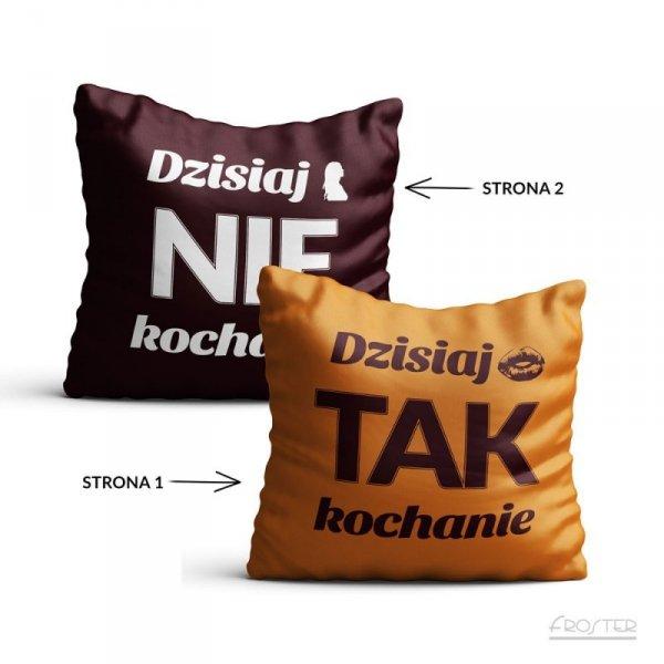 Poszewka prezentowa - Tak/Nie (PL)