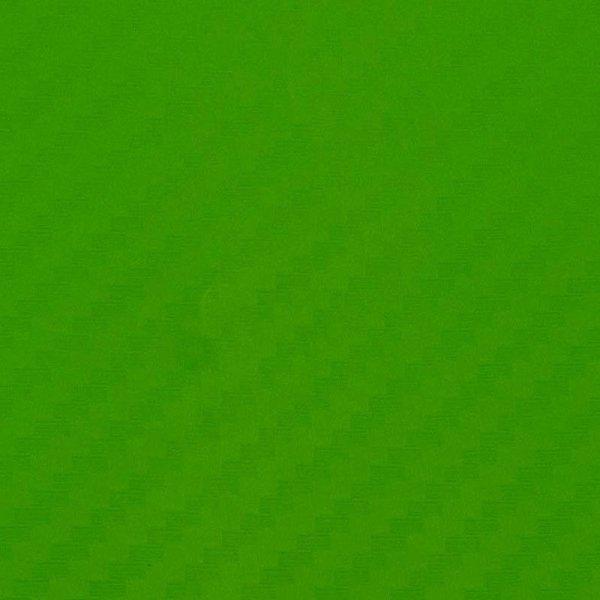 Folia odcinek carbon 3D zielona 1,27x0,1m