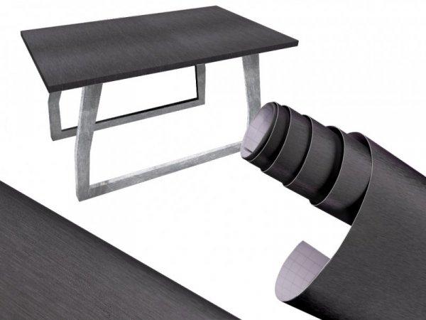 Folia rolka metalic szczotkowana grafit 1,52x30m