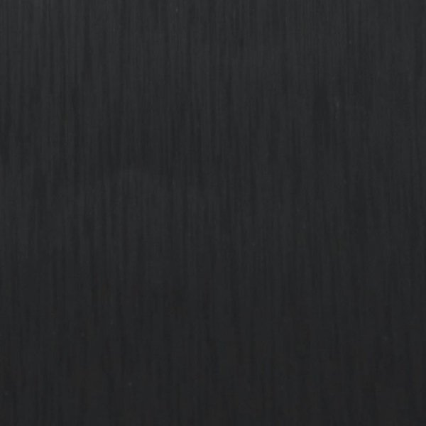 Folia odcinek szczotkowana czarna 1,52x0,1m