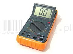 MIERNIK LCD MULTIMETR z temperaturą DT9208A