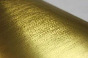 Folia rolka błyszcząca szczotkowana złota 1,52x30m