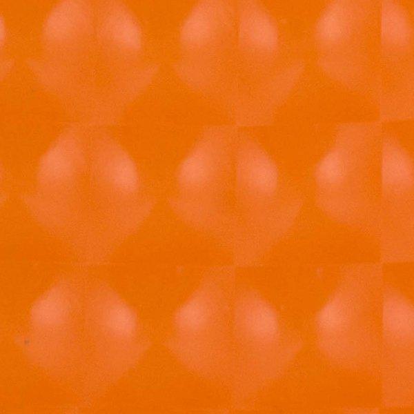 Folia odcinek kocie oczko pomarańczowa 1,52x0,1m