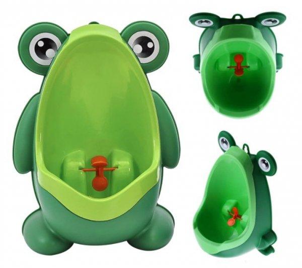Pisuar nocnik dla malucha na przyssawki żaba