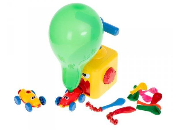 Samochód aerodynamiczny wyrzutnia balonów potwór 16el.