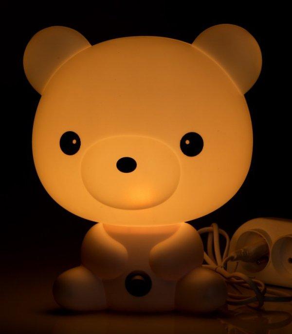Lampka nocna dekoracyjna Miś