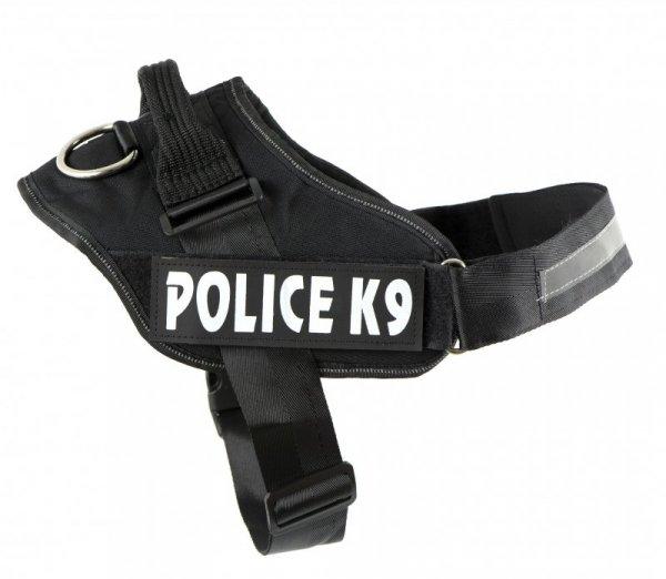 Szelki dla psa mocne XXL 90-125cm Police K9 odblas