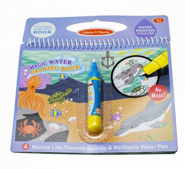 Książeczka wodna z mazakiem - Podwodny Świat