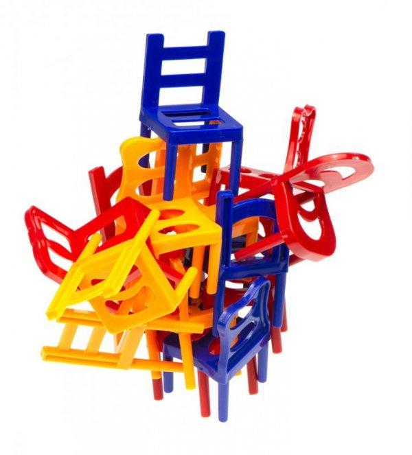Gra zręcznościowa spadające krzesła krzesełka