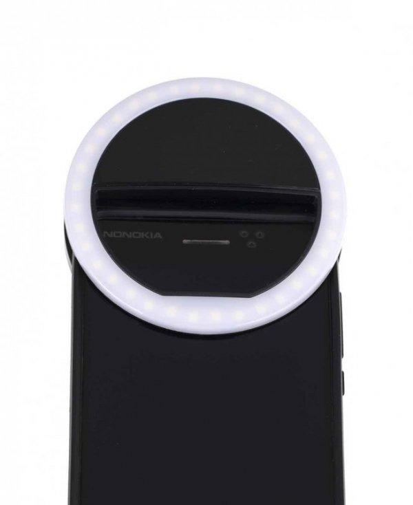 Lampka lampa do telefonu selfie ring light