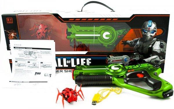 Pistolet na podczerwień + insekt
