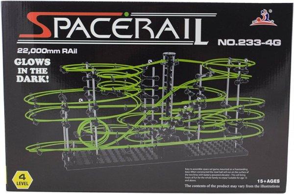 Tor kulkowy Spacerail glow świecące w ciemności level 4  72cm x 34cm x 36cm