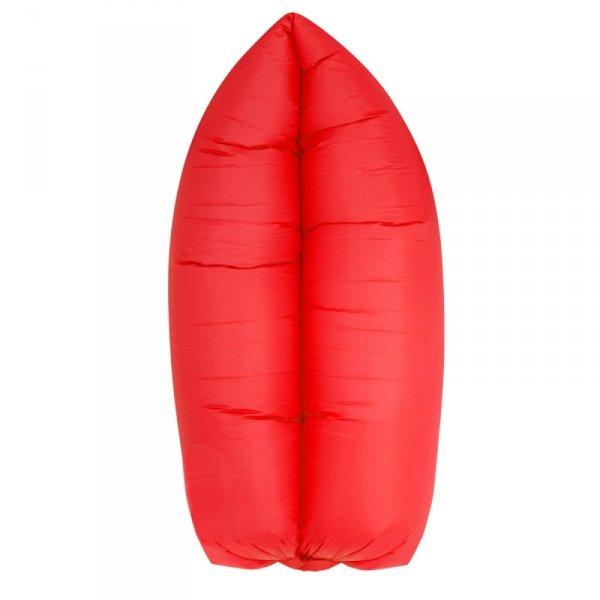Lazy Bag SOFA materac LEŻAK na POWIETRZE czerwony