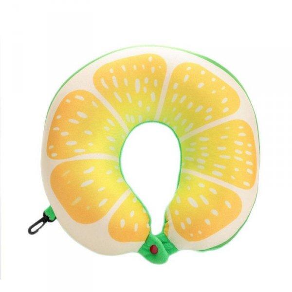 Poduszka podróżna owoce cytryna