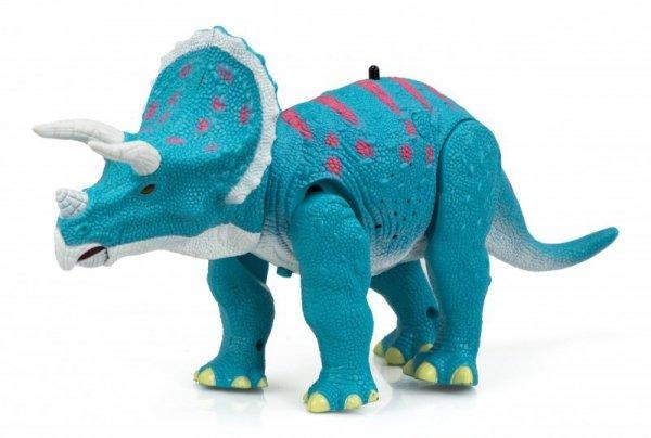 Dinozaur Triceratops RC  + dźwięki