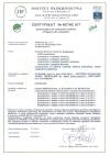 certyfikat maseczki z filtrem dla dzieci