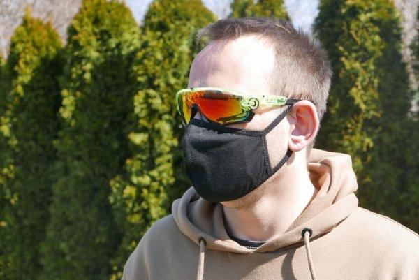 bawełniana maska z filtrem n99