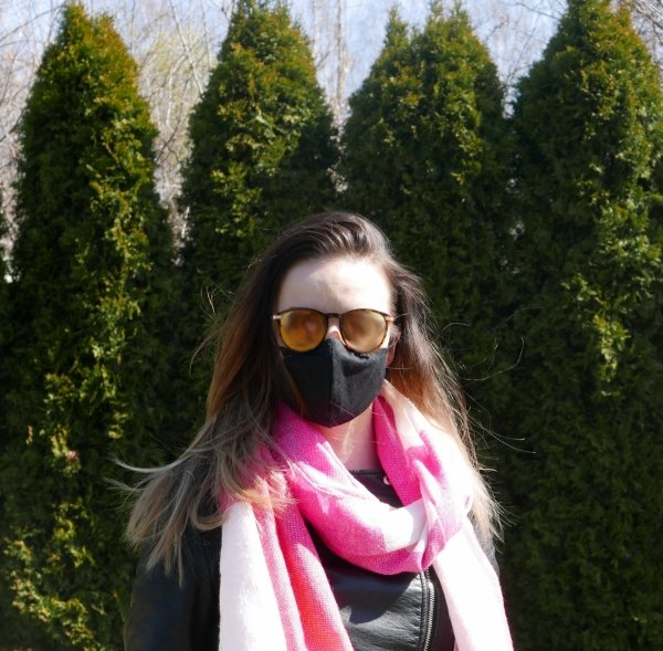 maska ochronna z filtrem węglowym