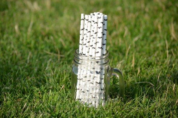 zestaw słomek papierowych eko bio