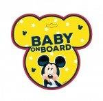 TABLICZKA BABY ON BOARD MICKEY