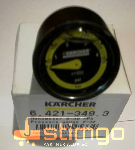 Manometr 0-30 MPa 6.421-349.3 Karcher