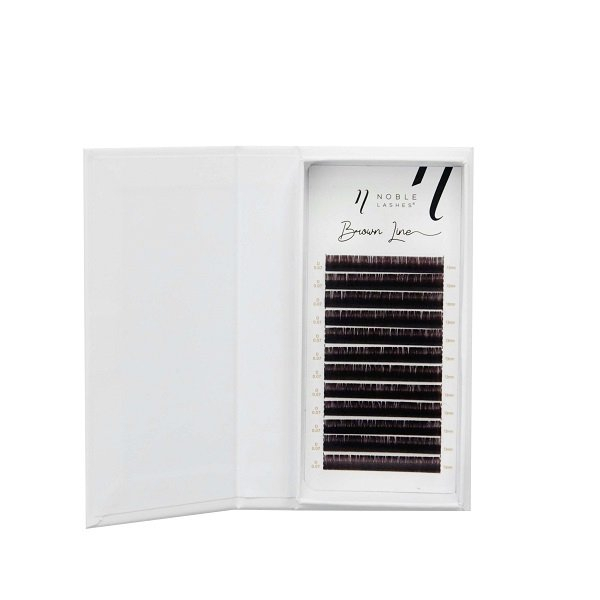 Brown Line Lashes D 0,07 BLACK BROWN
