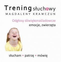Odgłosy dźwiękonaśladowcze - dodatek do książki Trening słuchowy Magdaleny Krawczun