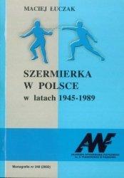 Szermierka w Polsce w latach 1945 1989
