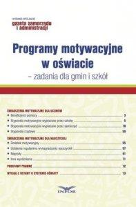 Programy motywacyjne w oświacie zadania dla gmin i szkół