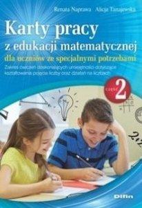 Karty pracy z edukacji matematycznej dla uczniów ze specjalnymi potrzebami Część 2