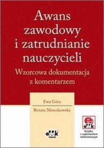 Awans zawodowy i zatrudnianie nauczycieli Wzorcowa dokumentacja