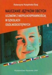 Nauczanie języków obcych uczniów z niepełnosprawnością w szkołach ogólnodostępnych