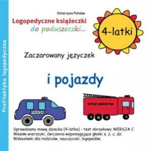 Zaczarowany języczek i pojazdy 4-latki