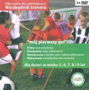 Niezbędnik trenera Piłka nożna dla najmłodszych 5-9 lat 2xDVD