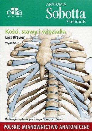 Anatomia Sobotta Flashcards Kości stawy i więzadła Polskie mianownictwo anatomiczne