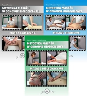 Masaż klasyczny + Masaż sportowy + Masaż pielęgnacyjny DVD
